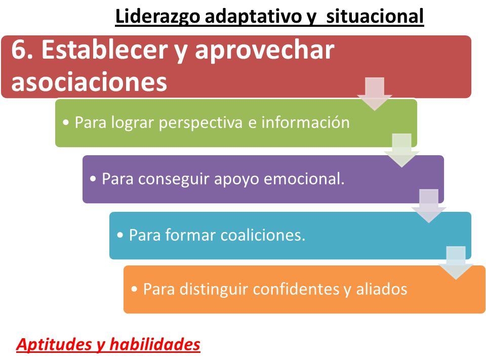 6. Establecer y aprovechar asociaciones