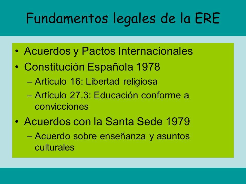 Fundamentos legales de la ERE