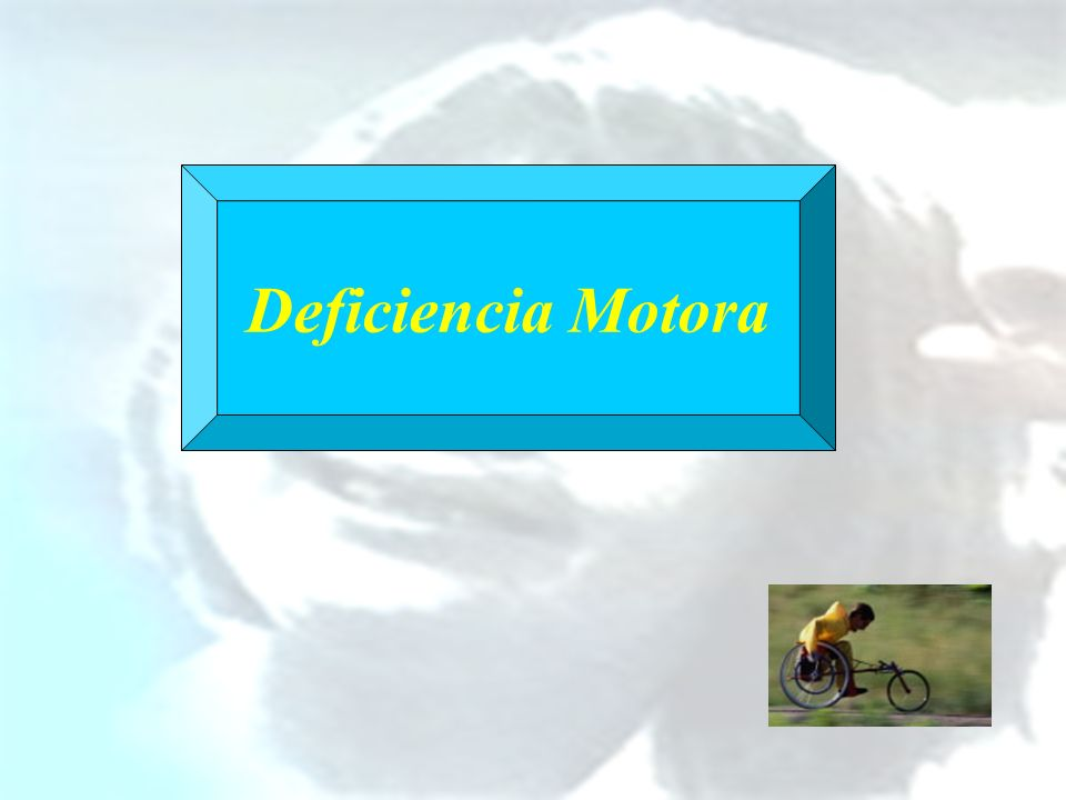 Deficiencia Motora
