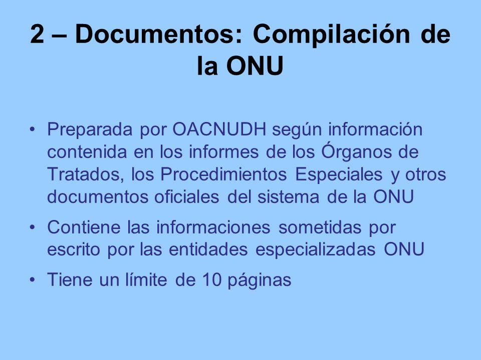 2 – Documentos: Compilación de la ONU