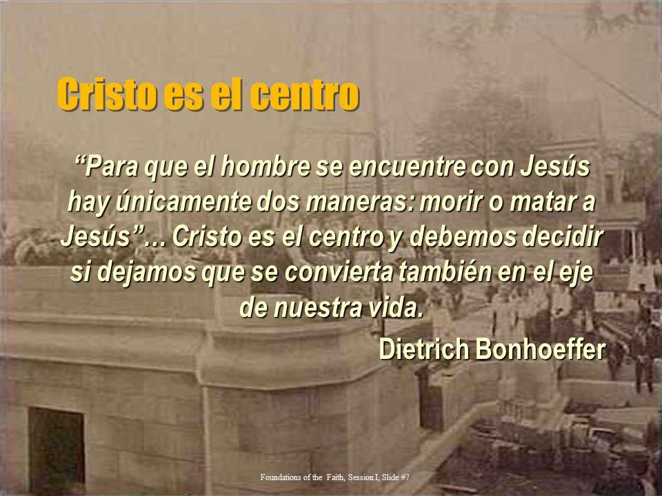 Cristo es el centro