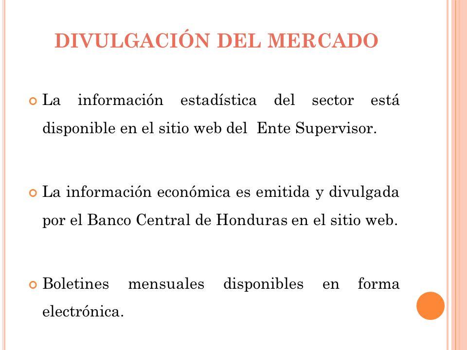 DIVULGACIÓN DEL MERCADO