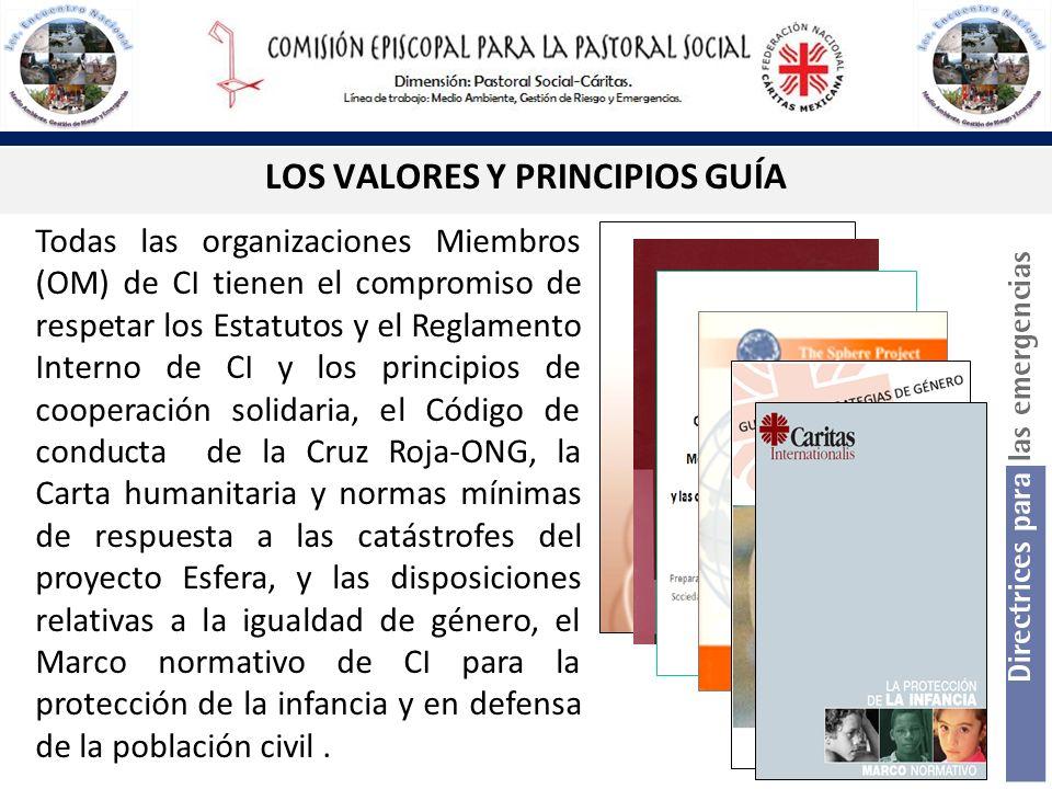LOS VALORES Y PRINCIPIOS GUÍA