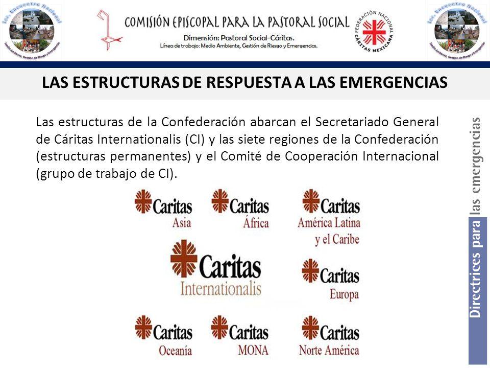 LAS ESTRUCTURAS DE RESPUESTA A LAS EMERGENCIAS