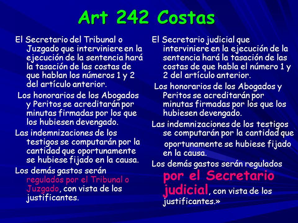 Art 242 Costas