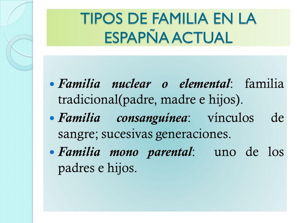 La familia ppt video online descargar Tipos de familia nuclear