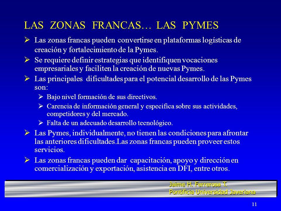 LAS ZONAS FRANCAS… LAS PYMES
