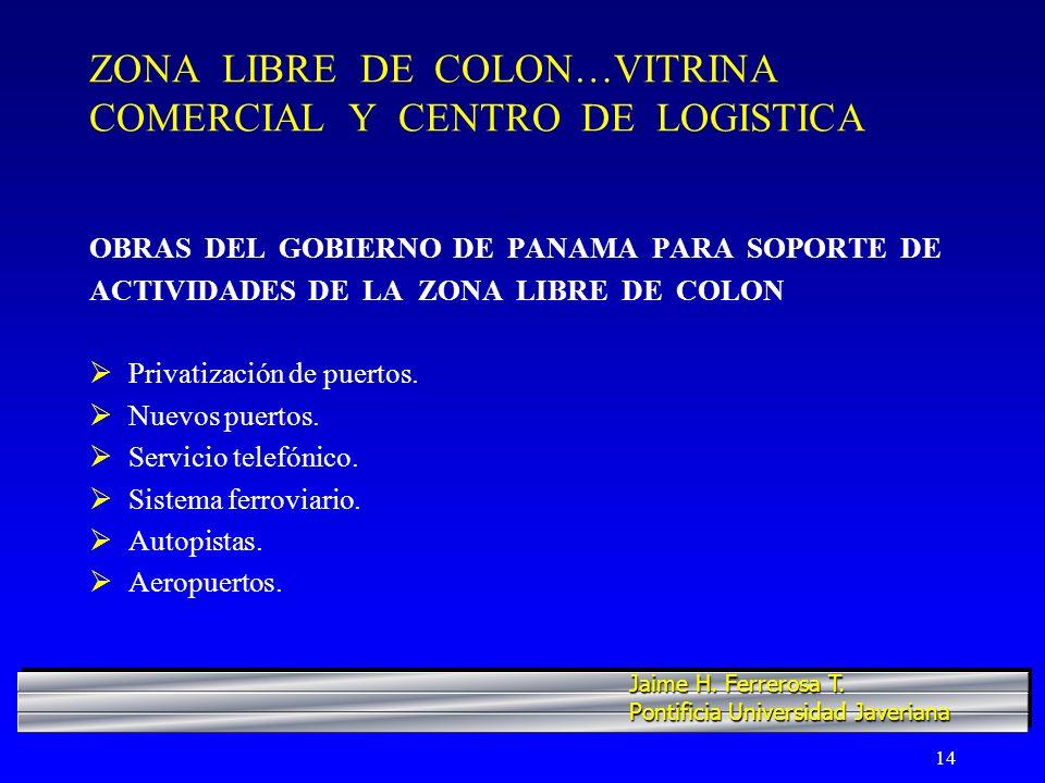 ZONA LIBRE DE COLON…VITRINA COMERCIAL Y CENTRO DE LOGISTICA