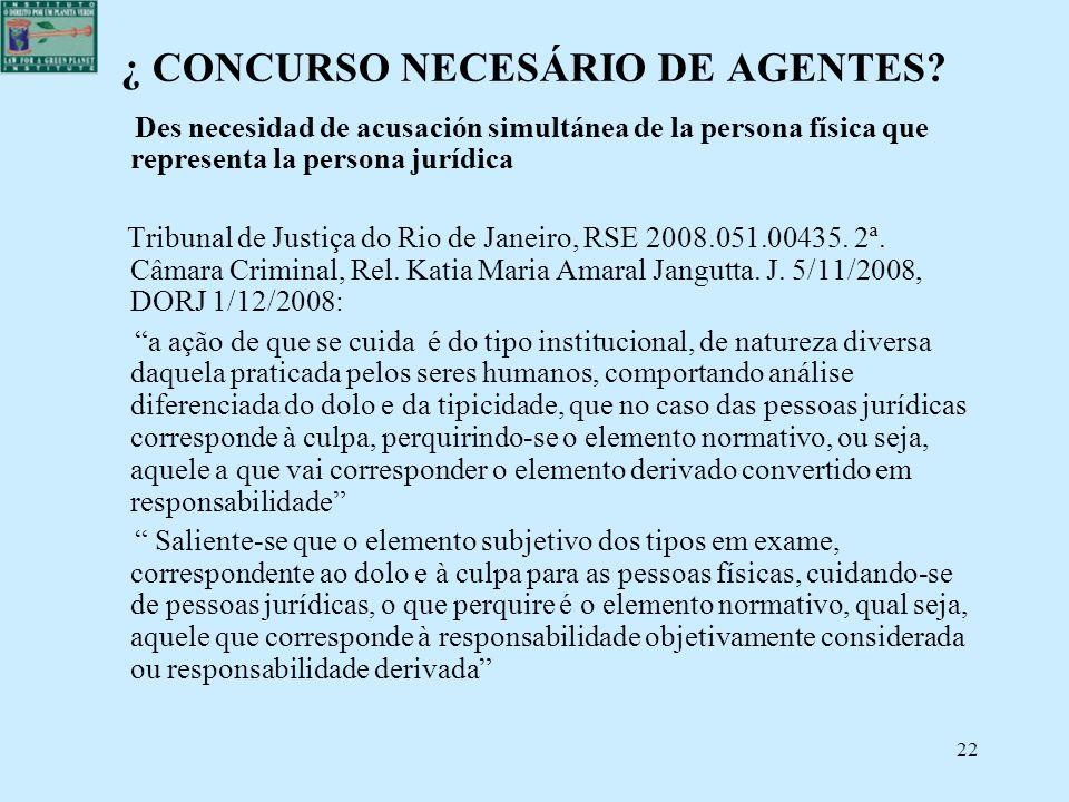 ¿ CONCURSO NECESÁRIO DE AGENTES