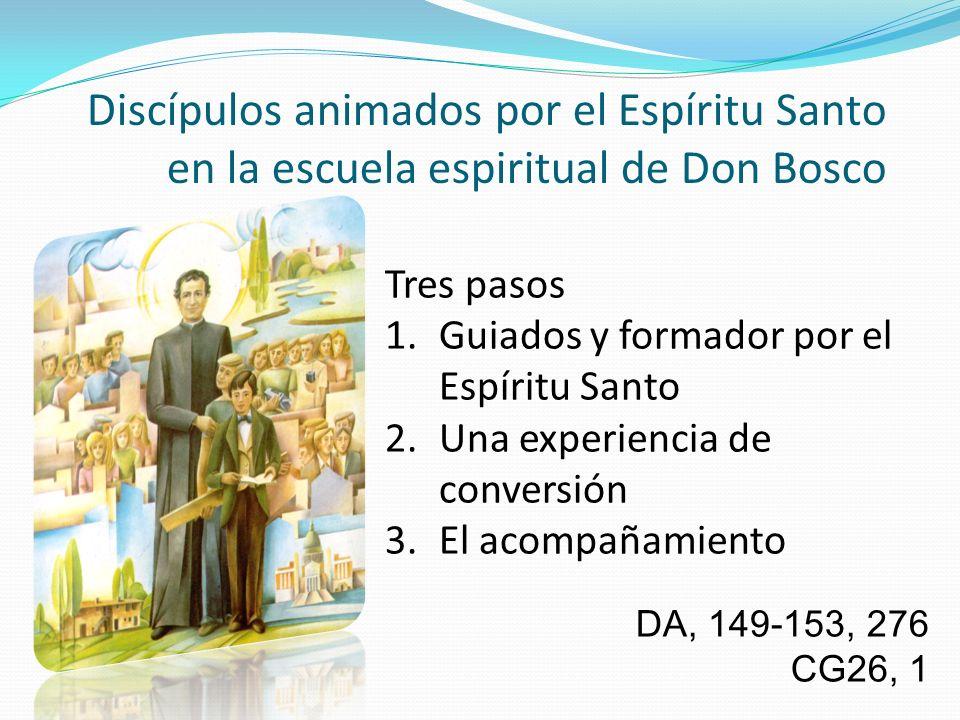 Discípulos animados por el Espíritu Santo en la escuela espiritual de Don Bosco