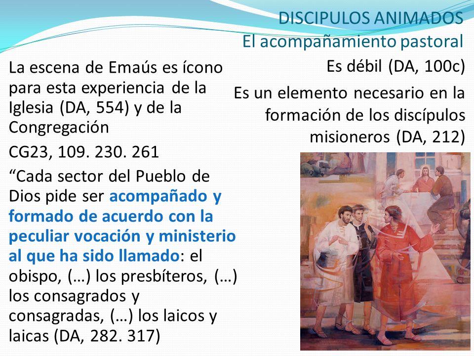 DISCIPULOS ANIMADOS El acompañamiento pastoral