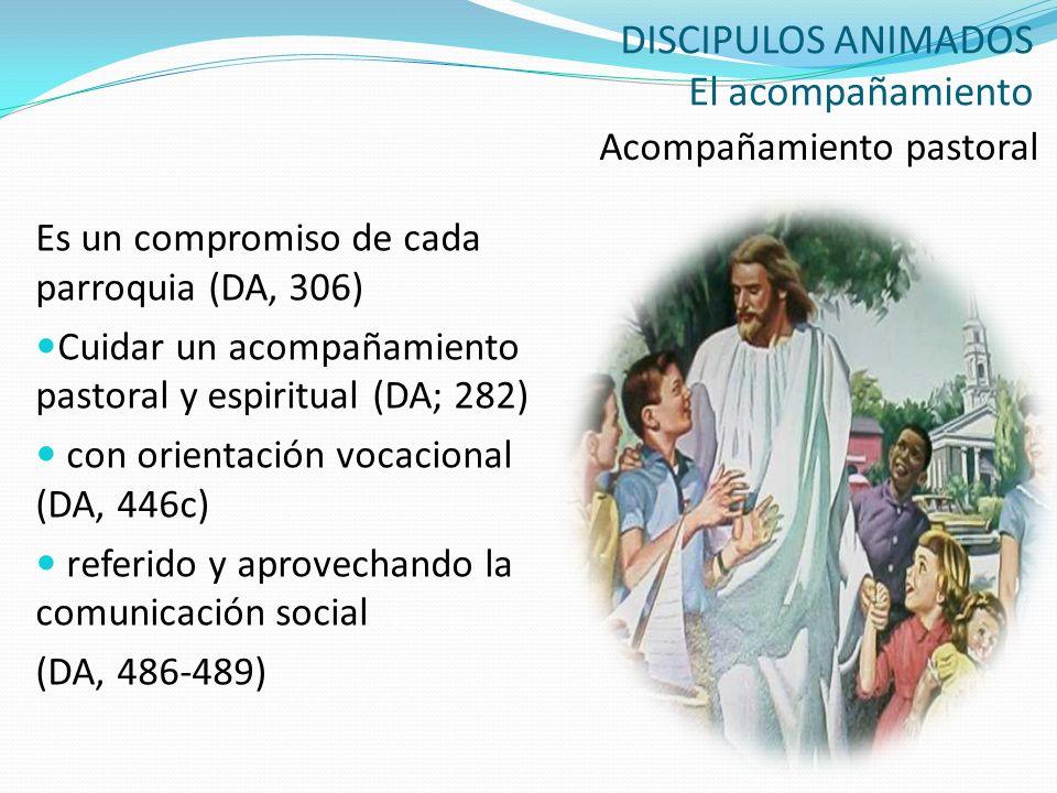 DISCIPULOS ANIMADOS El acompañamiento