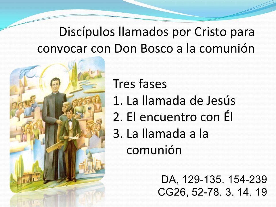 3. La llamada a la comunión