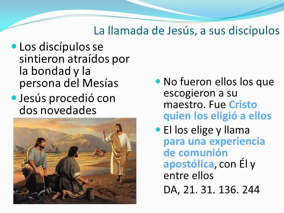 La llamada de Jesús, a sus discípulos