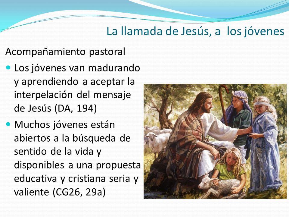 La llamada de Jesús, a los jóvenes