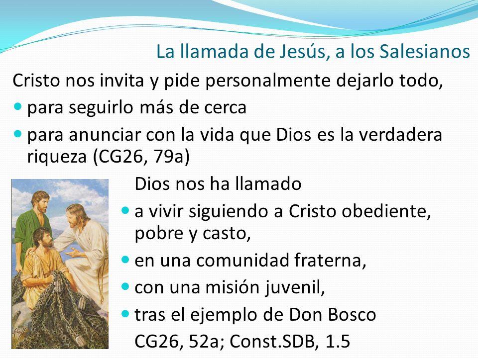 La llamada de Jesús, a los Salesianos