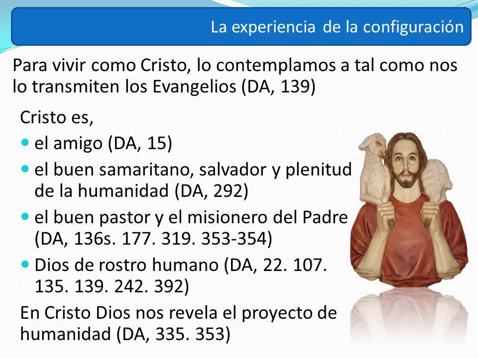 el buen samaritano, salvador y plenitud de la humanidad (DA, 292)
