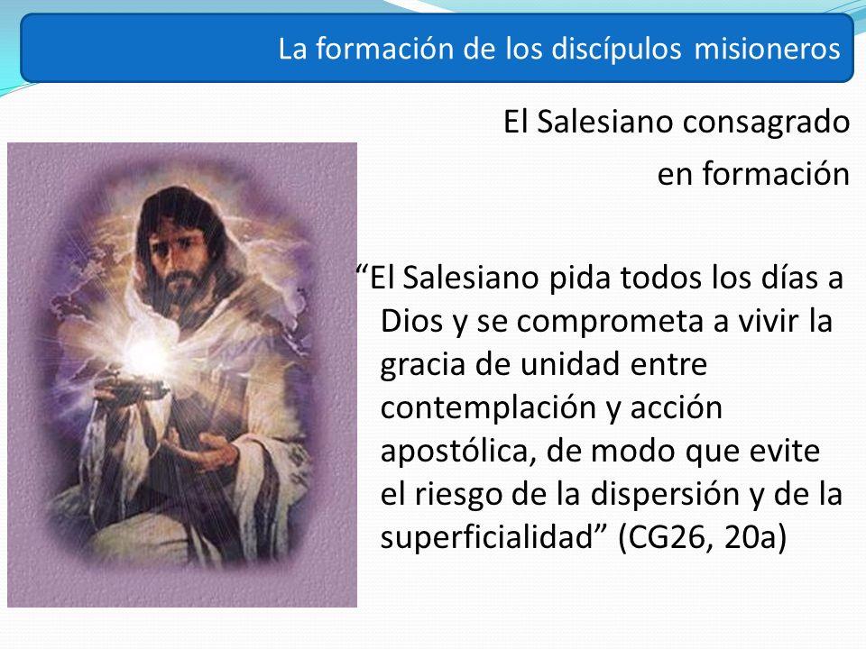 El Salesiano consagrado en formación