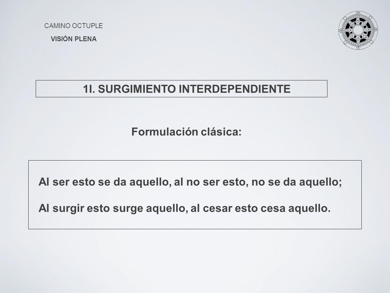 1I. SURGIMIENTO INTERDEPENDIENTE
