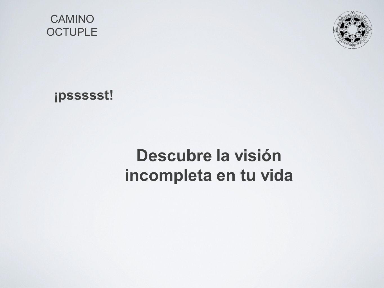 Descubre la visión incompleta en tu vida