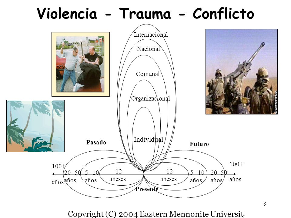 Violencia - Trauma - Conflicto