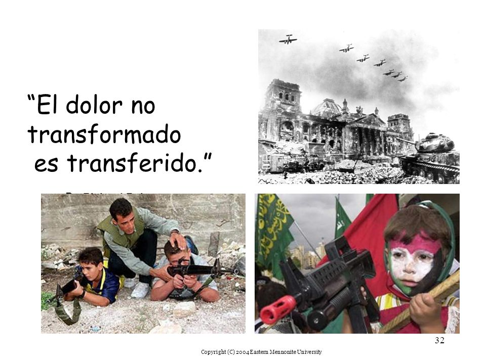 El dolor no transformado es transferido. Fr. Richard Rohr