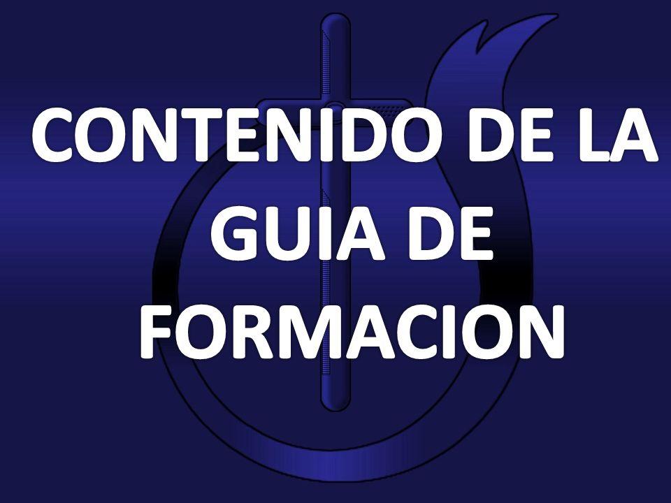 CONTENIDO DE LA GUIA DE FORMACION