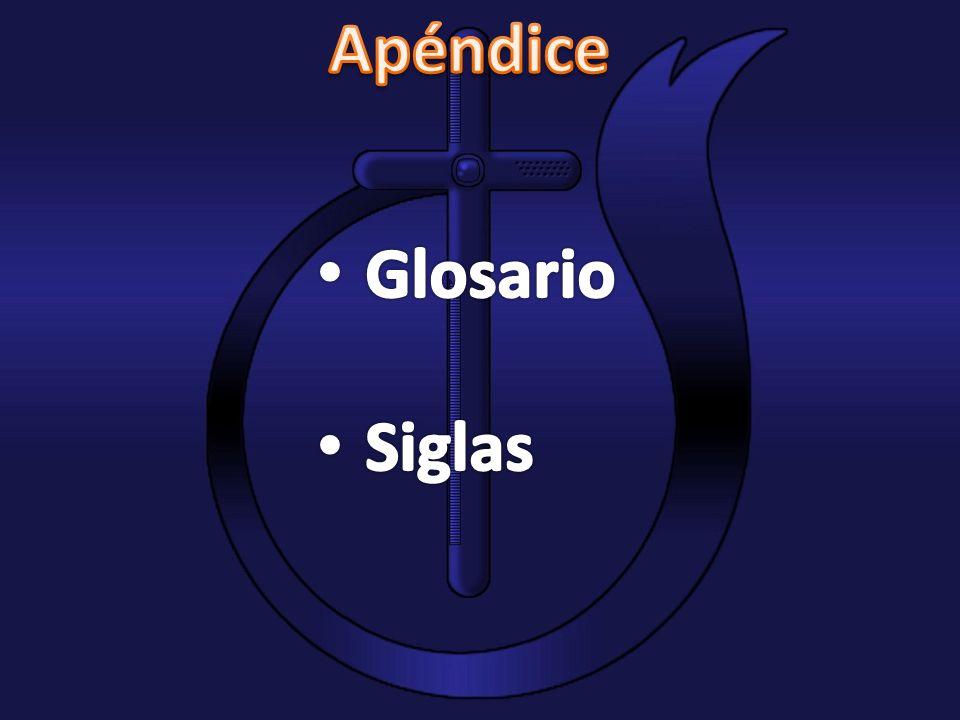 Apéndice Glosario Siglas