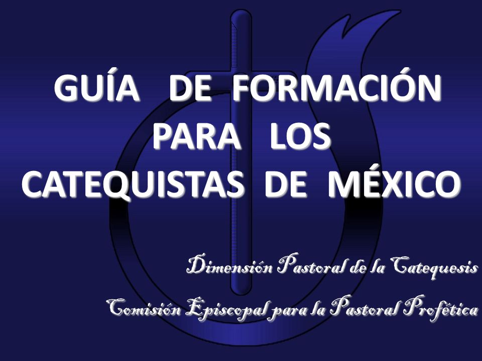 PARA LOS CATEQUISTAS DE MÉXICO