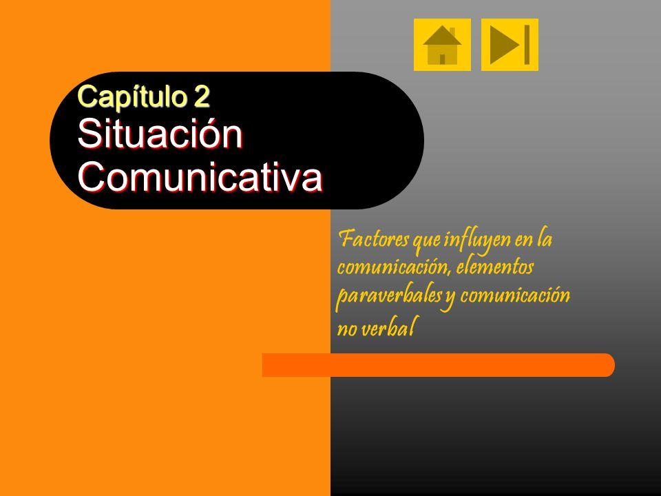 Capítulo 2 Situación Comunicativa