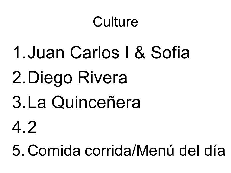 Juan Carlos I & Sofia Diego Rivera La Quinceñera 2