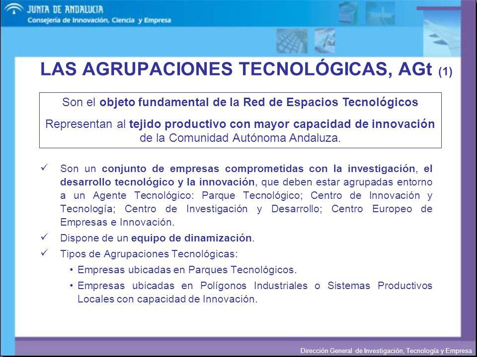 LAS AGRUPACIONES TECNOLÓGICAS, AGt (1)
