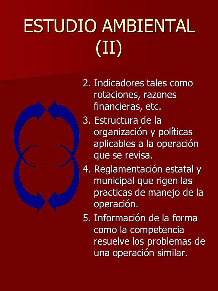 ESTUDIO AMBIENTAL (II)