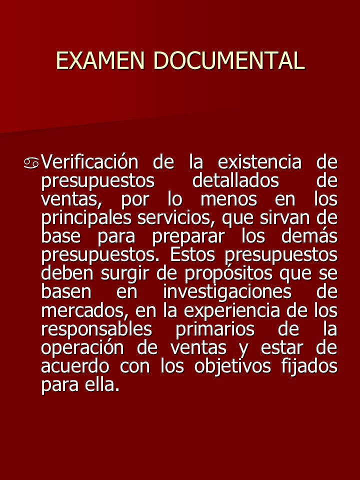 EXAMEN DOCUMENTAL