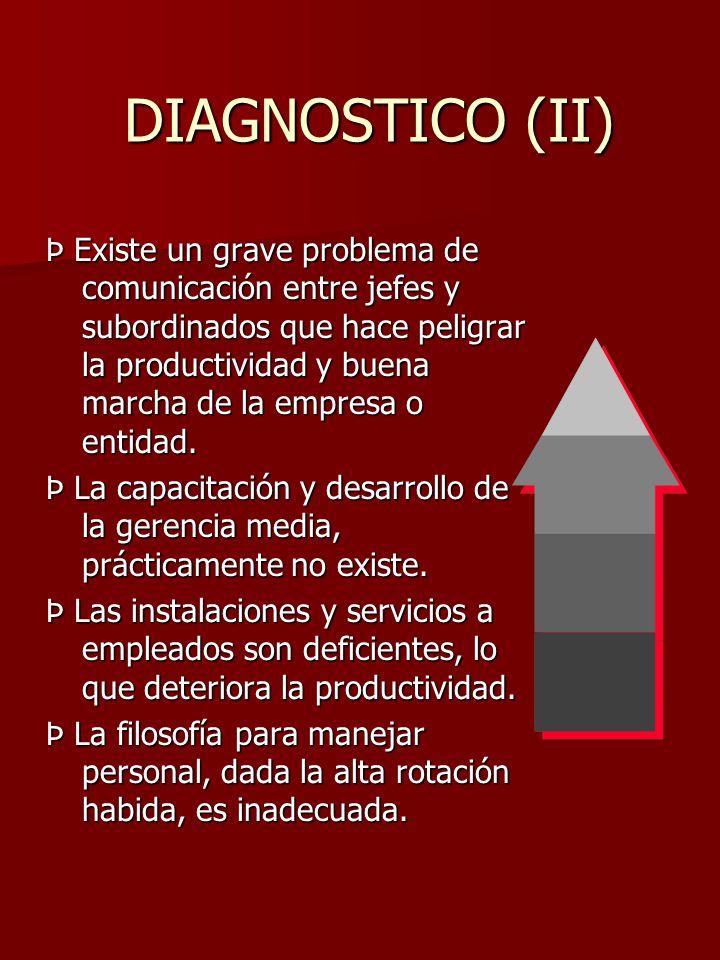 DIAGNOSTICO (II)