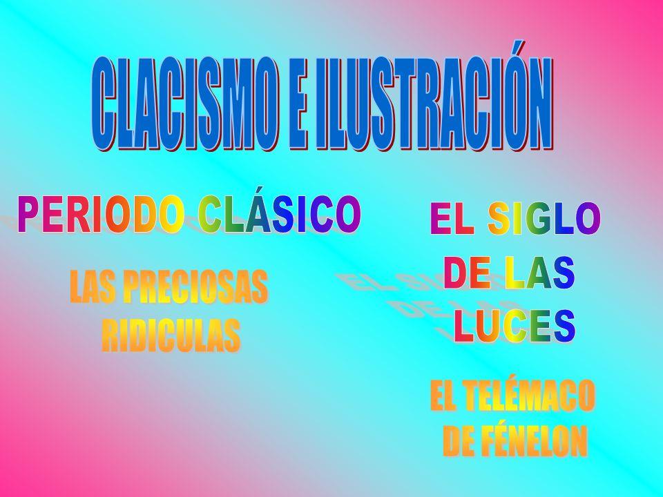 CLACISMO E ILUSTRACIÓN