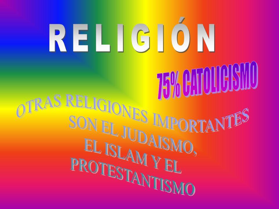 OTRAS RELIGIONES IMPORTANTES