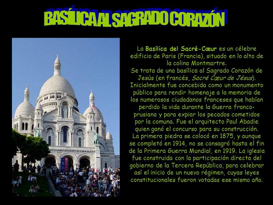BASÍLICA AL SAGRADO CORAZÓN