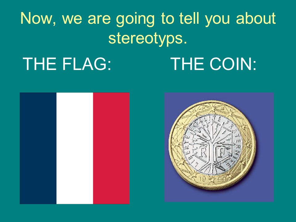 Now, we are going to tell you about stereotyps.