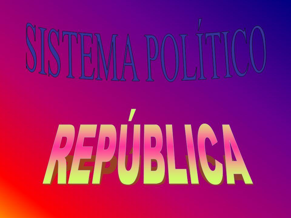 SISTEMA POLÍTICO REPÚBLICA