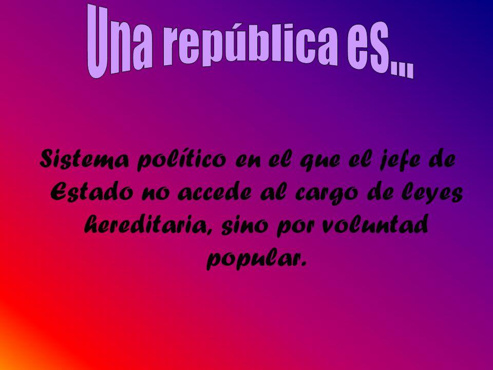 Una república es...