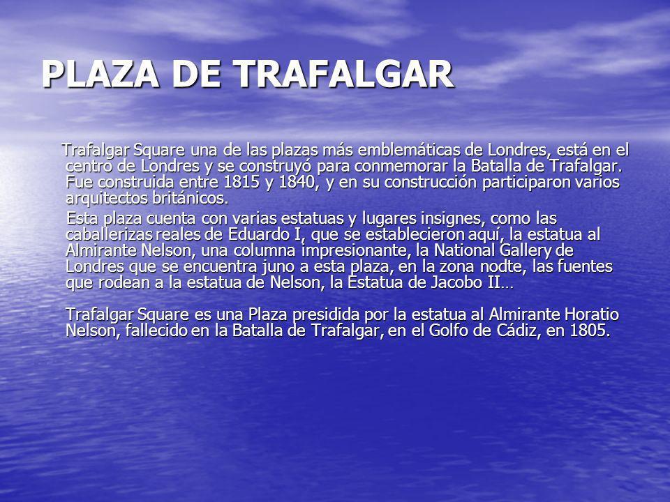 PLAZA DE TRAFALGAR