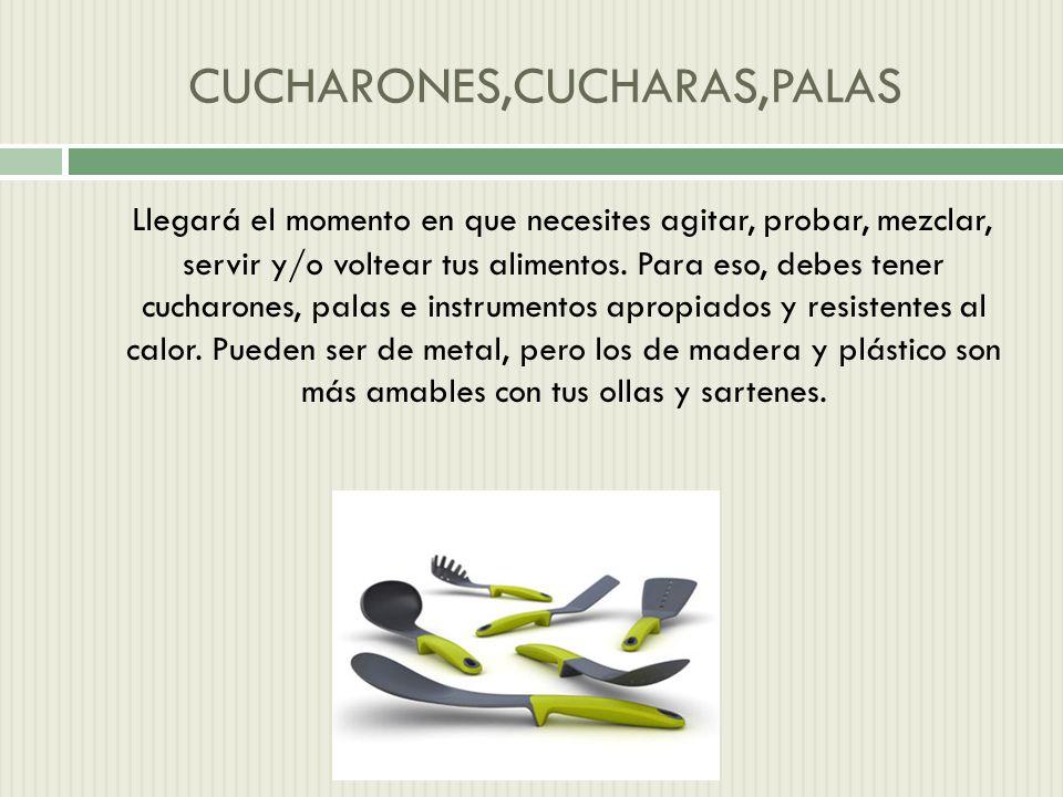 CUCHARONES,CUCHARAS,PALAS