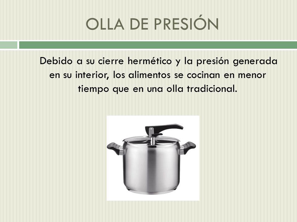 OLLA DE PRESIÓN