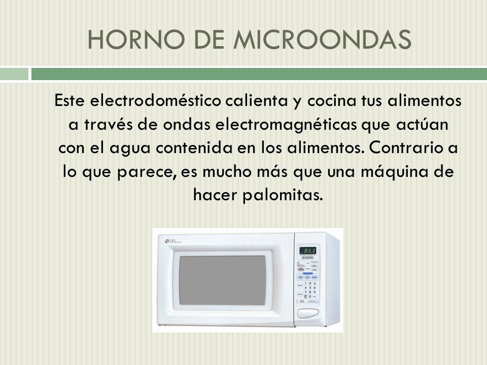 HORNO DE MICROONDAS