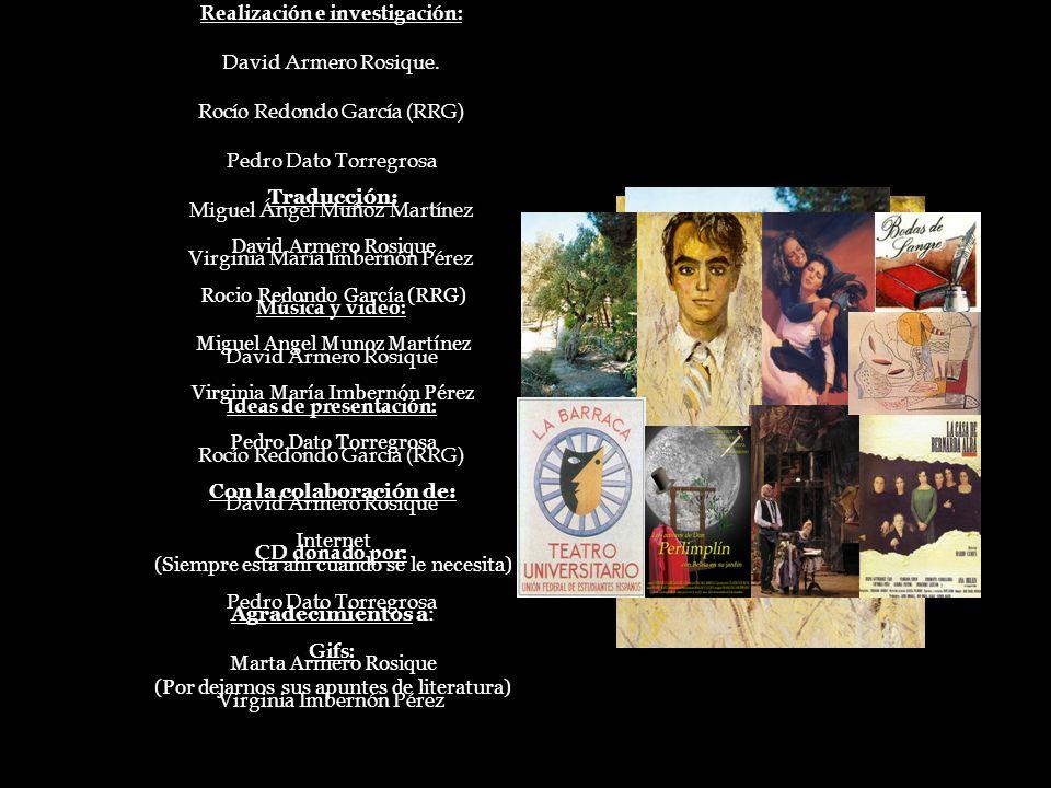 FIN Realización e investigación: David Armero Rosique.