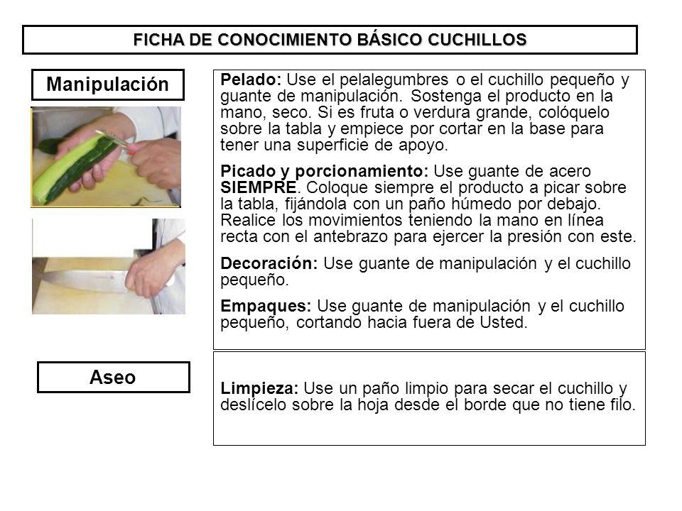 FICHA DE CONOCIMIENTO BÁSICO CUCHILLOS