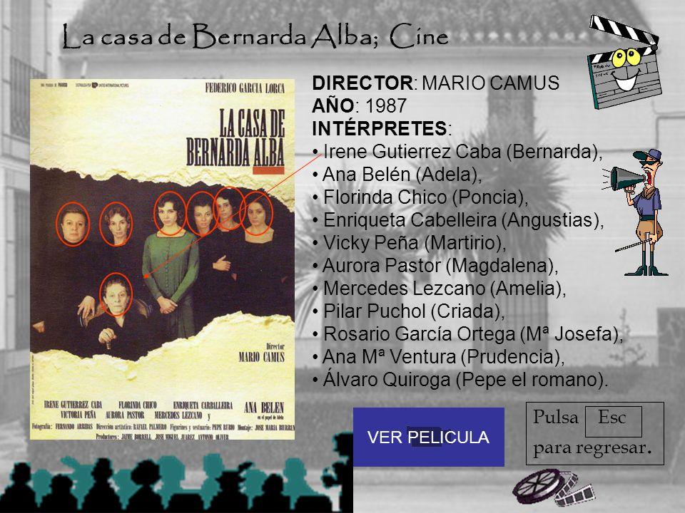 La casa de Bernarda Alba; Cine