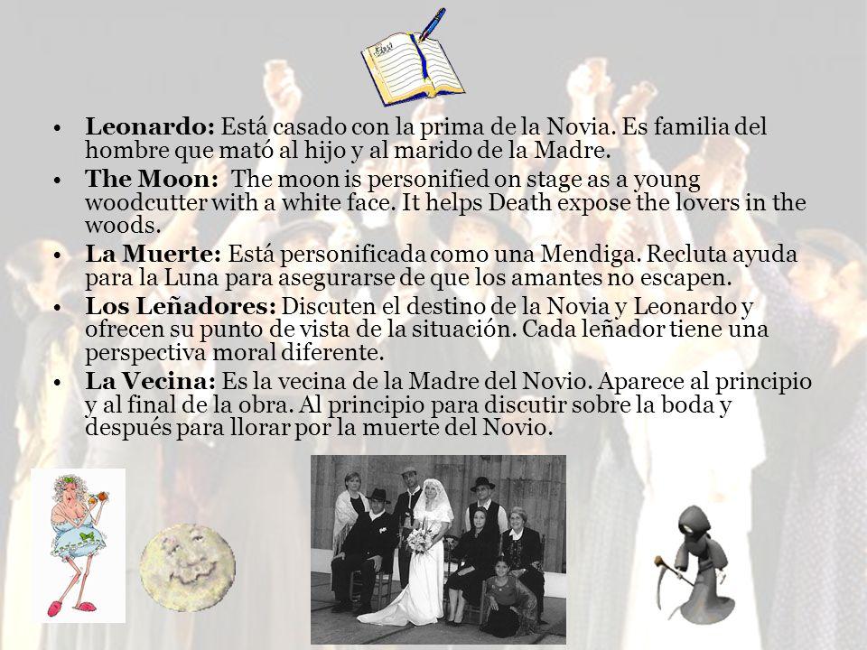 Leonardo: Está casado con la prima de la Novia