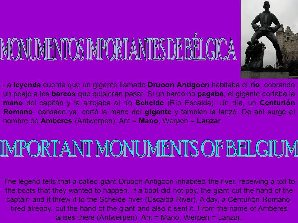 MONUMENTOS IMPORTANTES DE BÉLGICA